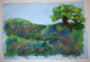 Example Painting with Fiber