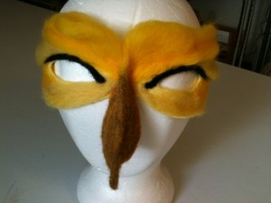 felted mask