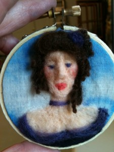 felted miniature